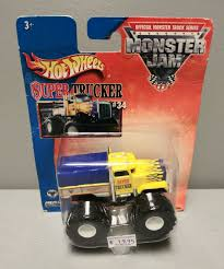100 Hot Wheels Monster Truck Toys HOT WHEELS MONSTER JAM 2003 SUPER TRUCKER 34 MONSTER TRUCK C222