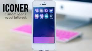 Iconer Customize iPhone Icons without Jailbreak
