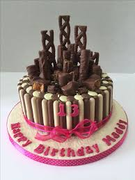 Chocolate Cake Decorations as Creamy Homemade Cakes