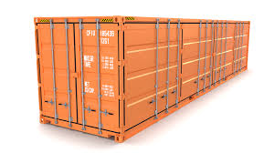 100 Shipping Container Model 40ft Side Open 3D