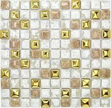 white porcelain wall tiles backsplash pcmt097 yellow gold ceramic