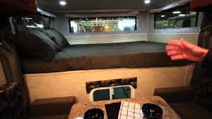 770P Travel Lite Pop Up Truck Camper With Electric Lift Roof - YouTube