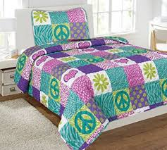 Bedroom Decor Ideas and Designs Peace Sign Bedding Ideas