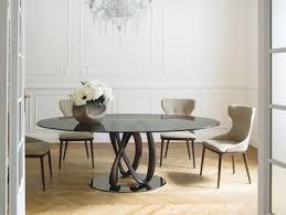 Porada Infinity Elliptical Table Modern Furniture Vancouver
