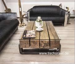 balkentisch couchtisch balken madera convinaciones de