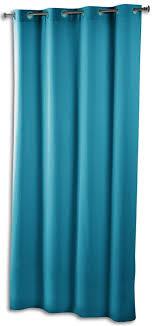 vorhang ösenvorhang 140x260 cm blau petrol kaufland de