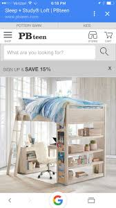 Furniture: Study Loft Beds | Sleep And Study Loft | Pottery Barn ... Holiday Decor Gift Ideas Pottery Barn Edition All My Favorites Wooden Doll House Play Set Fniture Trade Me Why I Ditched For Diy Can Make In My Madison Avenue Spy Brands Friends And Family Sale 25 Unique Barn Hacks Ideas On Pinterest Style Door Track For Under 60 Style Doors Placement Announcing A New Project Cribs Splurge Vs Save Lifes Tidbits Reclaimed Wood Maxatonlenus Kids Baby Bedding Gifts Registry Home Office Trendy Pottery Office Fniture Used