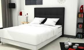 chambre avec lit noir beautiful set de chambre king noir photos amazing house design