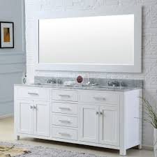 Bathroom Vanities 60 Inches Double Sink by Water Creation Madison 72wb Madison Pure White Double Basin
