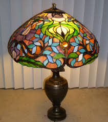 Fred Meyer Lamp Shades by How To Repair A Separated Tiffany Style Lampshade Make