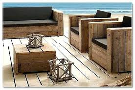 Rustic Patio Furniture Pallet Outdoor For Sale