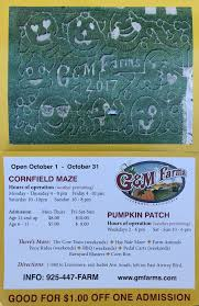 Livermore Pumpkin Patch by Corn Maze G U0026 M Farms