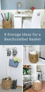 One Beautiful Basket, Eight Everyday Uses Pottery Barn Beachcomber Basket With Chunky Ivory Throw Green Laundry Basket Round 12 Unique Decor Look Alikes Vintage Baskets Crates And Crocs Birdie Farm Arraing Extra Large Copycatchic Summer Home Tour Tips For Simple Living Zdesign At Celebrate Creativity Au Oversized Rectangular Amazing Knockoffs The Cottage Market My Favorites On Sale Sunny Side Up Blog 10 Clever Ways To Use Baskets