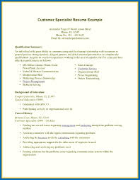 Resume Skills Examples No Experience Retail Sample Medical Assistant Cover Letter Government Jobs Customer Specialist