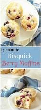 Bisquick Pumpkin Oatmeal Muffins by 15 Minute Triple Berry Muffins Recipe