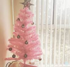 Late Doing Some Online Christmas Gift Shopping A Saw Cute Pink Tree On Charming Charlies Website And This Made Me Want To Purchase My Own