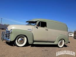 1951 Chevrolet Panel Truck - Lowrider Magazine 1948 Dodge Panel Truck Gaa Classic Cars Chevrolet For Sale On Classiccarscom Fichevrolet Truckjpg Wikimedia Commons 1940 Ford Fast Lane Eye Candy 1935 Panel Truck The Star 1956 S22 Indy 2016 F100 Gateway 11sct Rm Sothebys Hershey 2014 1947 Red Hills Rods And Choppers Inc St Seattles Parked 1959 For 1949 Chevy Van Powernation Week 47 Youtube