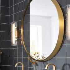 hlyt 0909 eleganter runder spiegel for bad badspiegel