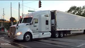 White Kenworth T680 W/ White Trailer In Downtown Memphis, TN - 6/14 ...