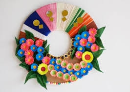 Wall Decor Ideas Easy Paper Craft Using Best Out Of Waste Pertaining To For Room Decoration Step By