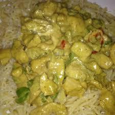 recette pate au creme fraiche pâtes au poulet sauce crème fraiche et une pointe de curry