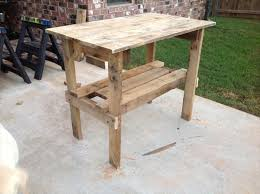 classy woods pallet high table stools recycled pallet ideas