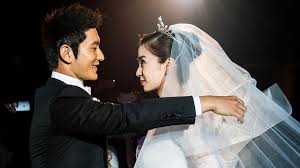 Chinese Screen Stars Huang Xiaoming And Angelababy Wed Before 2000 Guests