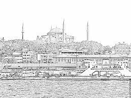 Coloriage Turquie Mai 2008 172 à Imprimer Pour Les Enfants Dessin