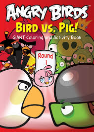 Angry Birds Giant Coloring And Activity 1 Assorted Book 96 Pages Modern Publishing 9781559934527 Amazon Books