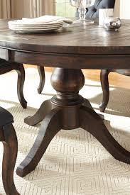 Furnituremaxx Trudill Casual Wood Dark Brown Color Dining ...