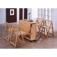 table pliante avec 4 chaises intégrées table basse table