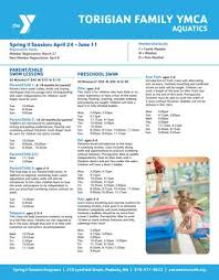 Sinking Spring Ymca Hours by Torigian Summer Programs By Ymca Of Metro North Issuu