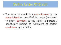 Irrevocable And Revocable Letter Of Credit Template Pdf Credit