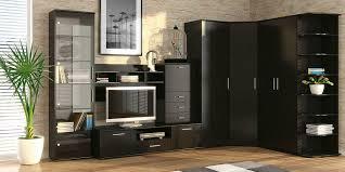 moderne eckwände im wohnzimmer 4 funktionen