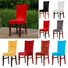 Foral Pattern Super Stretch Short Fox Fabric Dining Room Chair Cover  Slipcover Machine Washable 8 Color Pick-in Chair Cover From Home & Garden  On ...