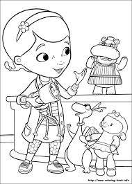 Doc McStuffins Coloring Picture