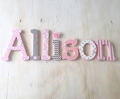 Baby Girl Name Letters Nursery Decor 14 Girls Bedroom Decor