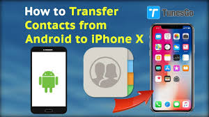 How to Transfer Contacts from Android to iPhone X