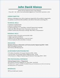 100 Example Of High School Resume 14 Sample Student Summer Job Collection