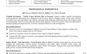 Collection Of Solutions Police Resume Examples Officer Resumes Beautiful Objective Law Large Size