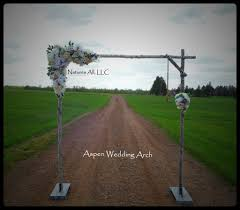 DIY Aspen Wedding Arch Kit Rustic For Indoor Or Outdoor Weddings Shipping