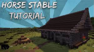 Minecraft: How To Build A Horse Stable Tutorial - YouTube Home Garden Plans B20h Large Horse Barn For 20 Stall Minecraft Tutorial Medieval Horse Stables Building How To Make A Cool Stable Youtube Building With Bdoubleo Episode 164 150117_120728 House Designs Pinterest Ideas Village Screenshots Show Your Creation For Horses Creative Mode Java Edition Pferdestallhorse Ilmister Ideas 4 Minecraft Horse Stable Google Search