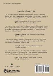 A Teachers Tale Memoir Joe Gilliland 9781491745854 Amazon Books