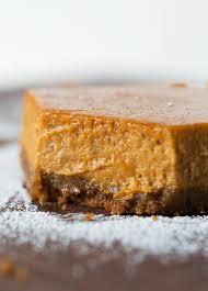 Pumpkin Gingersnap Cheesecake Bars by Maple Pumpkin Cheesecake Bars Table For Two