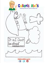 Bible Key Point Coloring Page Find This Pin And More On Jesus Walks Water