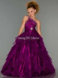 sell one shoulder ball gown flower dresses halteri