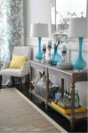 Grey Yellow And Turquoise Living Room by Home Decor Progress After 4 Years Honey Room Decor And Room