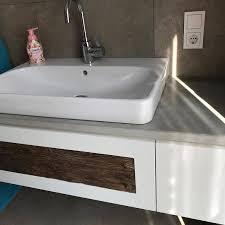 wir haben ein neues projekt abgeschlossen waschbecken