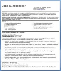 Mortgage Underwriter Resume Template Personal Lines Rh Emmawatson Us Insurance Examples Life
