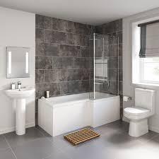 L Shaped Bathroom Vanity Ideas by Shower Bathroom Suites Bathroom Design And Shower Ideas